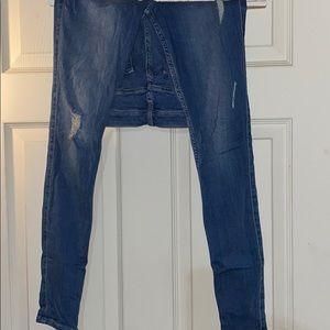 Hollister Pants - Hollister size 5R High rise Jean leggings